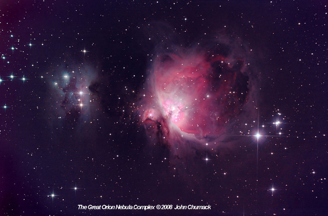 M42 & M43 The Great Orion Nebula Complex