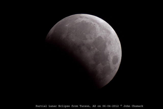 Partial Lunar 060412 from Tucson, AZ