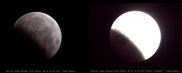 partial lunar eclipse from tucson az the universe yours to discover miami valley astronomical society